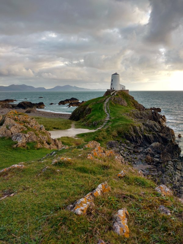 Twr Mawr lighthouse.