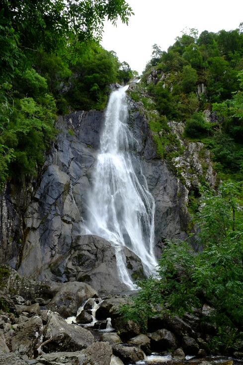 The beautiful Aber falls.