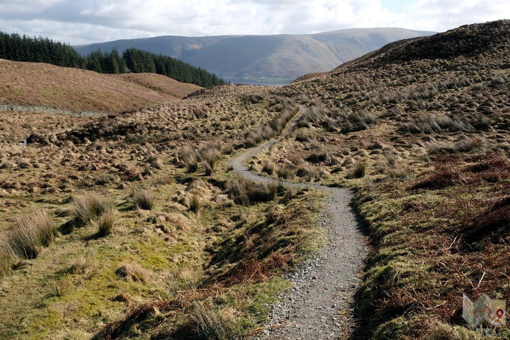 The path down from Gowbarrow Fell